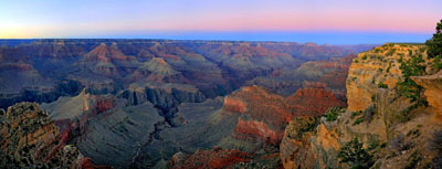 Grand Canyon at Dusk from Hopi Point