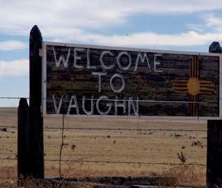 Photo of a sign saying Welcome to Vaughn