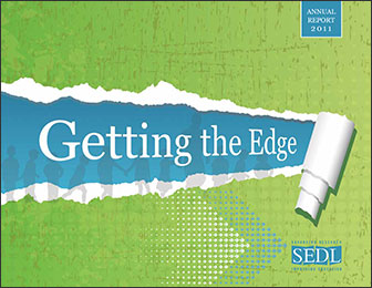 Image of the cover of SEDL's 2011 Annual Report