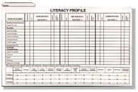 Literacy Profile Folder