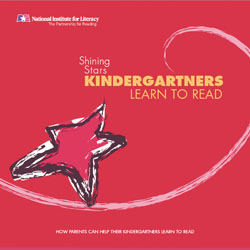 Cover of Shining Stars Kindergartners publication