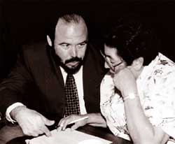 Picture of Victor Rodríguez and Augustina Olivarez