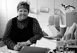 Parkin Elementary School principal Becky Gibson.